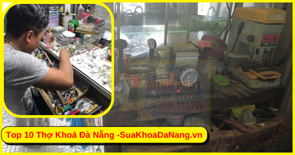 sửa khoá két sắt tại nhà tại Đà Nẵng