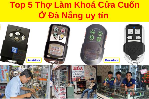 top 5 thợ làm chìa khoá cửa cuốn tại đà nẵng